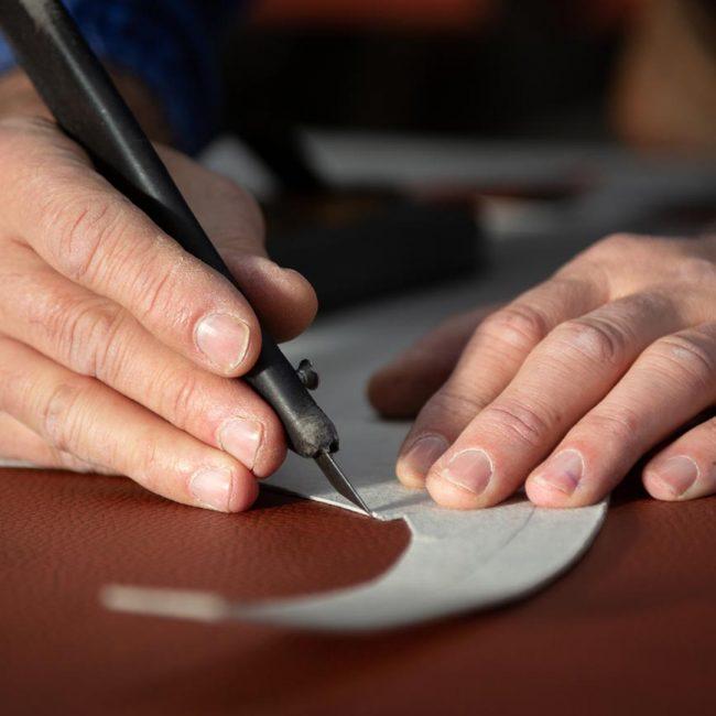 Elaboración de una silla Ludomar: preparando patrones.
