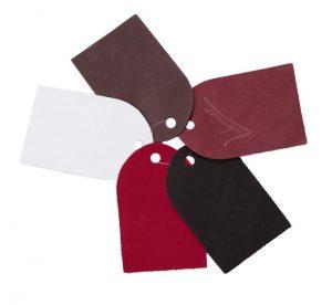 Materiales y colores utilizados por Ludomar: nobuck.